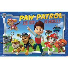 Paw Patrol Crew 3ft Wall Decor Party Supplies Canada & Halloween Supplies Canada - Open A Party