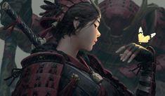 fantasy girl warrior girls black hair fingerless gloves arm warmers fantasy art digital art original characters Z. Samurai, Im Falling In Love, L5r, Warrior Girl, Fantasy Girl, Sculpture, Character Illustration, Black Hair, Concept Art