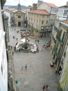 Penthouse overlooking the cathedral - Santiago de Compostela City Centre Spanish Modern, Cathedral, Street View, Santiago De Compostela, Cathedrals