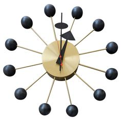 "Vintage ""Ball"" Clock by George Nelson 