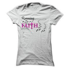 Running on Faith T-Shirts Hoodie Tees Shirts