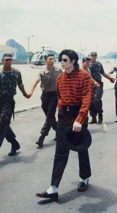 Michael.. He´s just walking, and I overwhelmed by his sexiness! <3