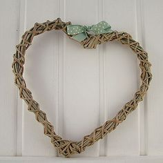 Wreath Willow Wreath, Grapevine Wreath, Christmas Hearts, Grape Vines, Wreaths, Wedding, Image, Bedroom, Home Decor