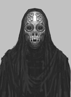 Harry Potter Concept Art: Death Eaters byRob Bliss