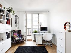 scandinavian office images | ... For Organizing Contemporary Workspace At Home In Scandinavian Style
