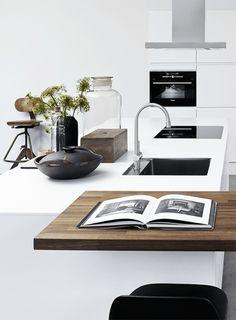 Kitchen inspiration by Danish Designa | via styleandcreate.com