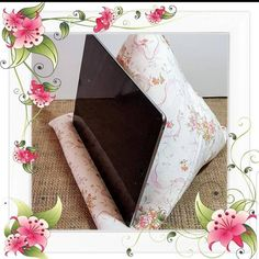 Tablet Stand, Ipad Stand, Fabric Ribbon, Floral Fabric, Get Well Soon Gifts, Fabric Bowls, Floral Cushions, Gift Wrapping Services, Tech Gifts