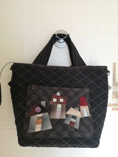 Reusable Tote Bags, Quilts, Quilt Sets, Log Cabin Quilts, Quilting, Quilt, Afghans