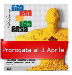 La Mostra ART OF THE Brick è stata prorogata fino al 3 Aprile 2016