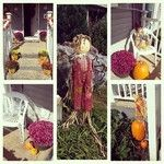 Fall front porch..my favorite time of year.
