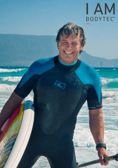 Meet Mark Herd, studio owner of Bodytec Sunset Beach. EMS training allows him to go from zero to wave speed on the ocean Sunset Beach, Water Sports, Ems, Wetsuit, Surfing, To Go, Waves, Ocean, Training