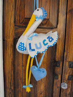 Pronta a volare la cicogna di Luca!