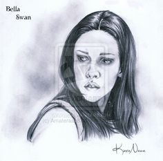 Bella Swan (Kristen Stewart) portrait.