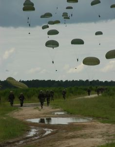 d day airborne drop zones