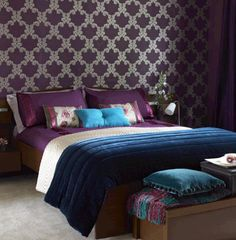 Jewel Tone Bedroom Ideas | HGTV's Color of the Month Demands Attention – October 2011 ...