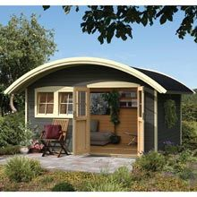 Abri de jardin BRETAGNE 12m² (3x4) 30mm | bois | Pinterest ...