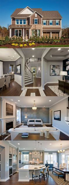 Stop by our newest community, Waterstone, and tour 235 Papyrus Place. This gorgeous 5 bedroom, 5.5 bathroom Hastings floorplan home features a firs… …
