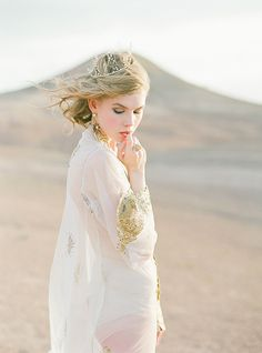 Tamara Gigola Desert Shoot. Morocco. Magnolia Rouge.