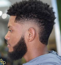 Call It a Temp Fade or Temple Fade, Either Way It's Trending Afro With Burst Fade And Beard Black Man Haircut Fade, Temp Fade Haircut, Black Hair Cuts, Black Men Haircuts, Black Men Hairstyles, Short Hair Cuts, Medium Hairstyles, Natural Hairstyles, Modern Haircuts