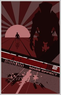 Mass Effect 2 Poster by ~Fire1138 on deviantART
