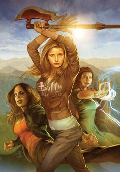Buffy the Vampire Slayer- season 8! Proof that the genius of Joss Whedon can't be contained