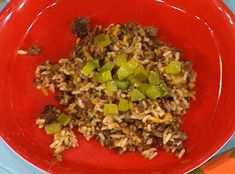Cheeseburger Rice Bowl