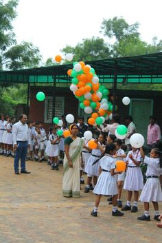 Independence day celebration of DPS EAST.