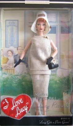 Barbie LUCY GETS A PARIS GOWN DOLL Episode 147 I Love Lucy - Collector Edition Timeless Treasures (2002)