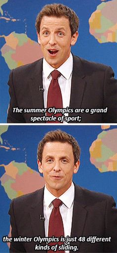 Haha but the athletes are cute :) I've got quite the soft spot for the Winter Olympics... Maybe it's just because I'm kind of an Olympics nut in general. -E
