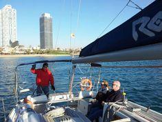 Buen día para navegar!
