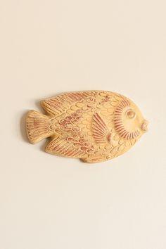 Fische Wall Art in Yellow