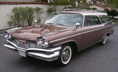 1960 Dodge Polara Station Wagon Maintenance of old vehicles: the material for new cogs/casters/gears/pads could be cast polyamide which I (Cast polyamide) can produce Chrysler Voyager, Dodge Wagon, Dodge Trucks, Vintage Cars, Antique Cars, Retro Cars, Vintage Racing, Beach Wagon, Station Wagon Cars