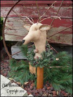 Primitive Reindeer Makedo EPATTERN
