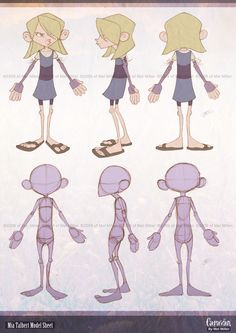 Mia Talbert Orthographic by Javadoodle.deviantart.com on @deviantART