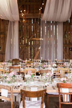 Barn Wedding Decor | Ashley Ludaescher Photography | Bridal Musings Wedding Blog