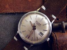 but Stunning Vintage Watch Bulova Aerojet. Vintage Military Watches, Vintage Watches, Bulova Accutron, Seiko, Omega Watch, Ebay, Accessories, Antique Watches, Vintage Clocks