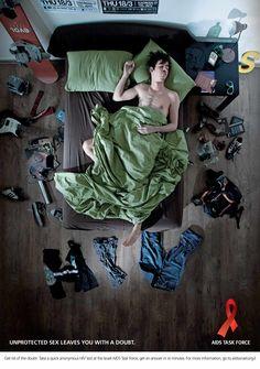 Anúncios para o Dia Mundial de Luta Contra a Aids - Repertório Criativo