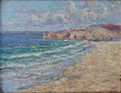 """Maximilien LUCE (Paris 1858 - Rolleboise 1941), """"Perros Guirec"""""""
