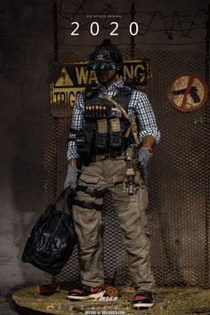 Special Ops, Special Forces, Military Action Figures, Designer Toys, Navy Seals, Swat, Post Apocalyptic, Vinyl Art, Wolverine