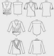 Modificación de patrón para hacer una blusa cruzada