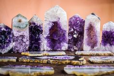 Angel Cards, Glam Rock, Mother Earth, Crystal Jewelry, Stones And Crystals, Witchcraft, Pillar Candles, Amethyst, Spirituality