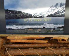 Convict Lake winter by DesertsandBeyond on Etsy