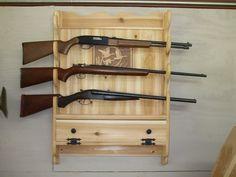 gun rack plans - Google Search