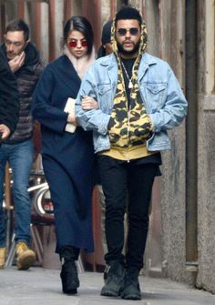 January 30: Selena seen out and about with The Weeknd in Venice, Italy [GP]
