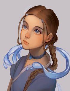 Avatar Aang, Avatar Legend Of Aang, Legend Of Korra, Team Avatar, Animated Cartoon Characters, Cartoon Shows, Female Characters, The Last Avatar, Avatar The Last Airbender Art
