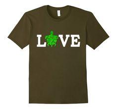 Love Turtles Shirt (green turtle cute trending popular tee)