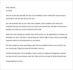 sample love letters to boyfriend 16 free documents in word pdf happy birthday
