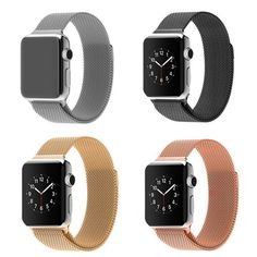 Original Link Bracelet strap & Milanese Loop watchbands Stainless Steel band for apple watch 38mm / 42mm Watchband  Item specifics    Item Type:Watchbands                                Condition:New with tags  Band Material Type:Stainless Steel            Model Number:Milanese Loop  Clasp Type:Magnetic Closure                     Band Length:24cm  Applicable Model:For apple watch 38mm \ 42mm       This band is only fit for apple watch 38mm and 42mm, please check your watch size…