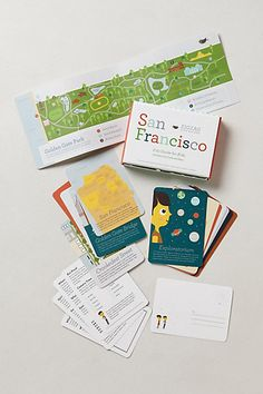 ZigZag City Guide #anthropologie, they have one for Rome, NYC, San Francisco and Paris