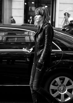 Balenciaga Moto Jacket Black w/Black zips